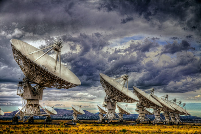 4. The Very Large Array (VLA), between Magdalena and Datil