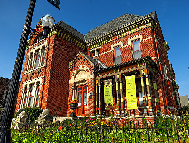 1. Rotary Jail Museum - Crawfordsville