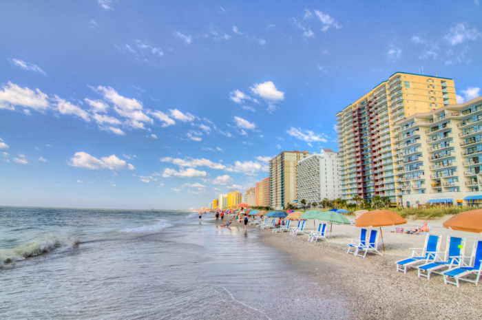 12. Myrtle Beach...so colorful here it looks like a candy store.