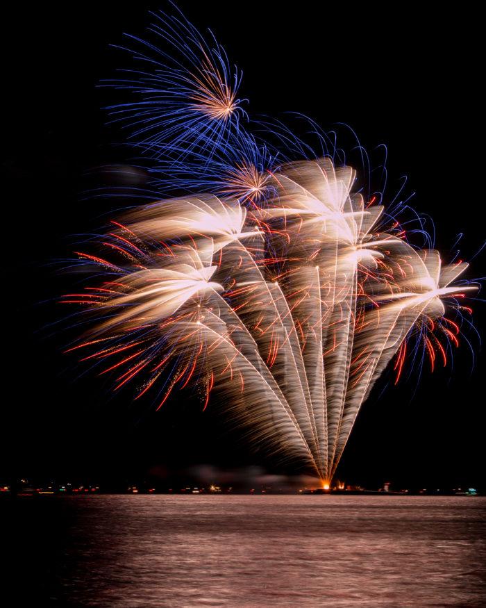 3. Chelan Rockin' Fireworks Show