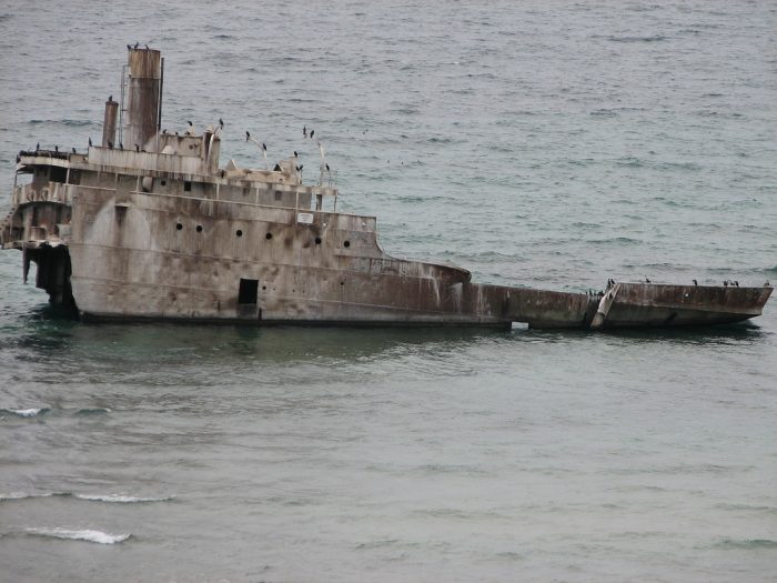 1. Shipwreck Cove, Lake Huron and Michigan