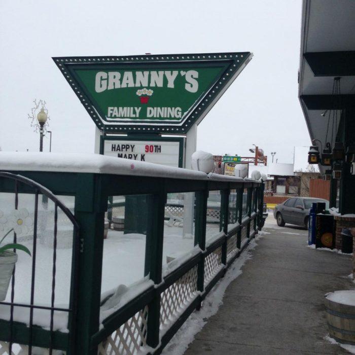 3. Granny's Restaurant, Cody