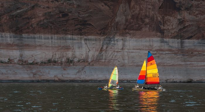 6. Explore via sailboat...