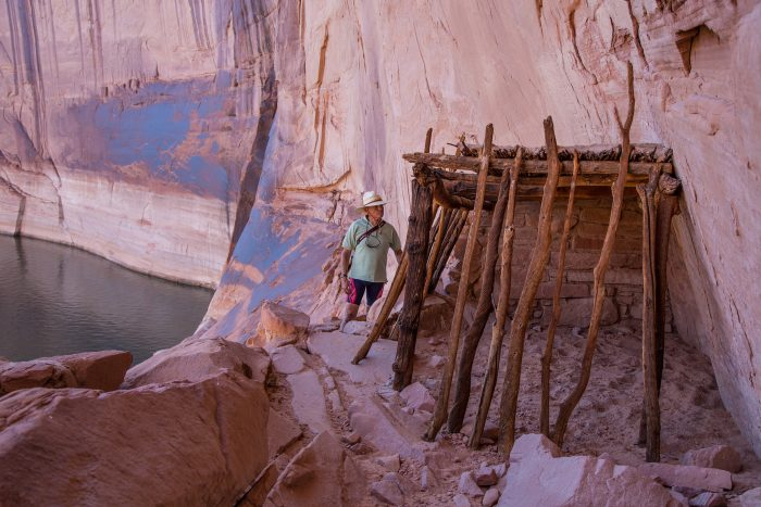 10. Check out ancient ruins like this Anasazi site near Explorer Canyon.