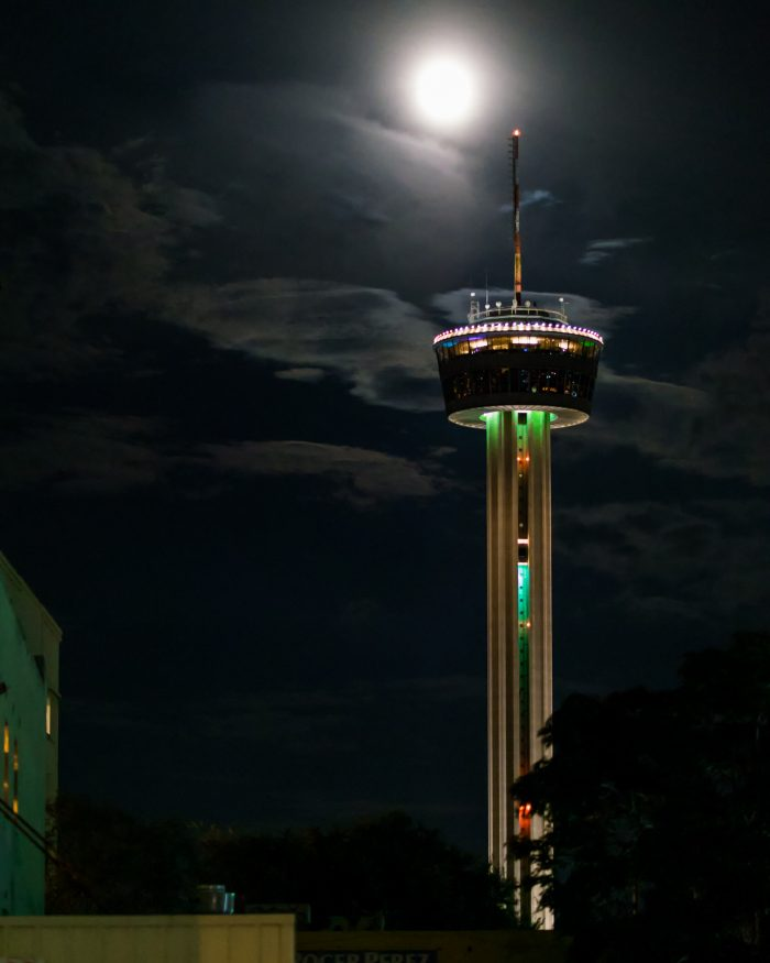 1. Tower of the Americas (San Antonio)