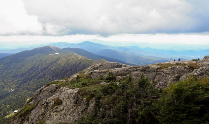 6.  The views from the top of Mount Mansfield.
