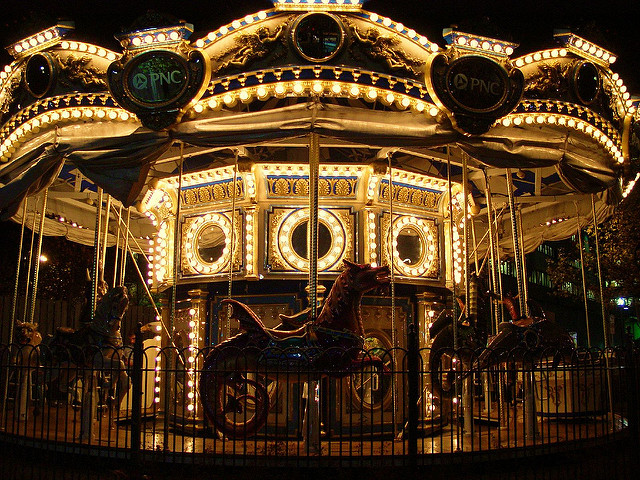 15. The PNC Carousel in Oakland