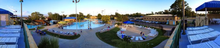 3. End your day by cooling off at the epic Hays Aquatic Park.