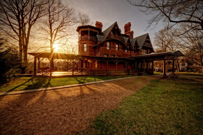 5. Explore the life and times of a famous author at Mark Twain's House in Hartford.