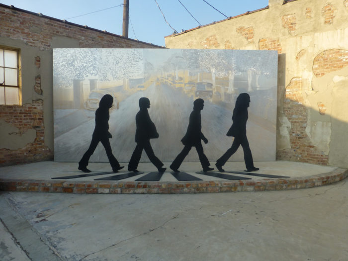 17.There's a Beatles sculpture in Walnut Ridge.