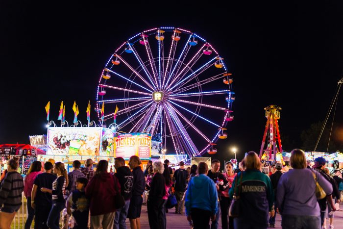 9.  Go to festivals and fairs whenever possible.