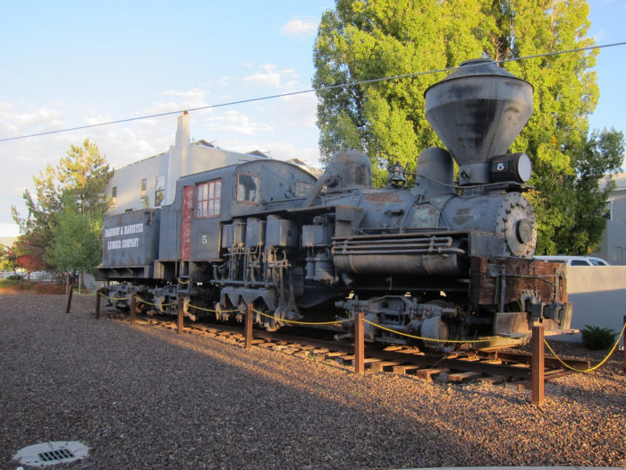 4. Afterwards, check out the Arizona State Railroad Museum.