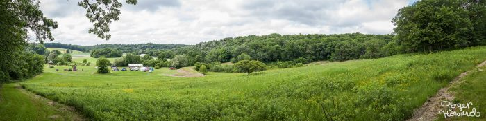11. The Blakeslee Farm near Spring Valley is always picturesque, and this summer panorama shows off one of its best views.