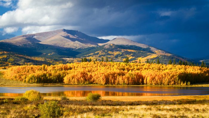 4. Only in Colorado can you fully appreciate all four seasons...