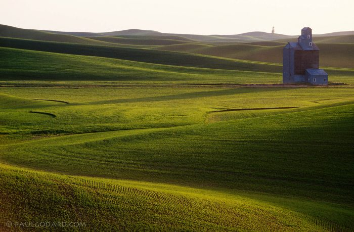 9. The lush rolling hills of the Palouse countryside are like a completely different world from Northern and Southern Idaho.