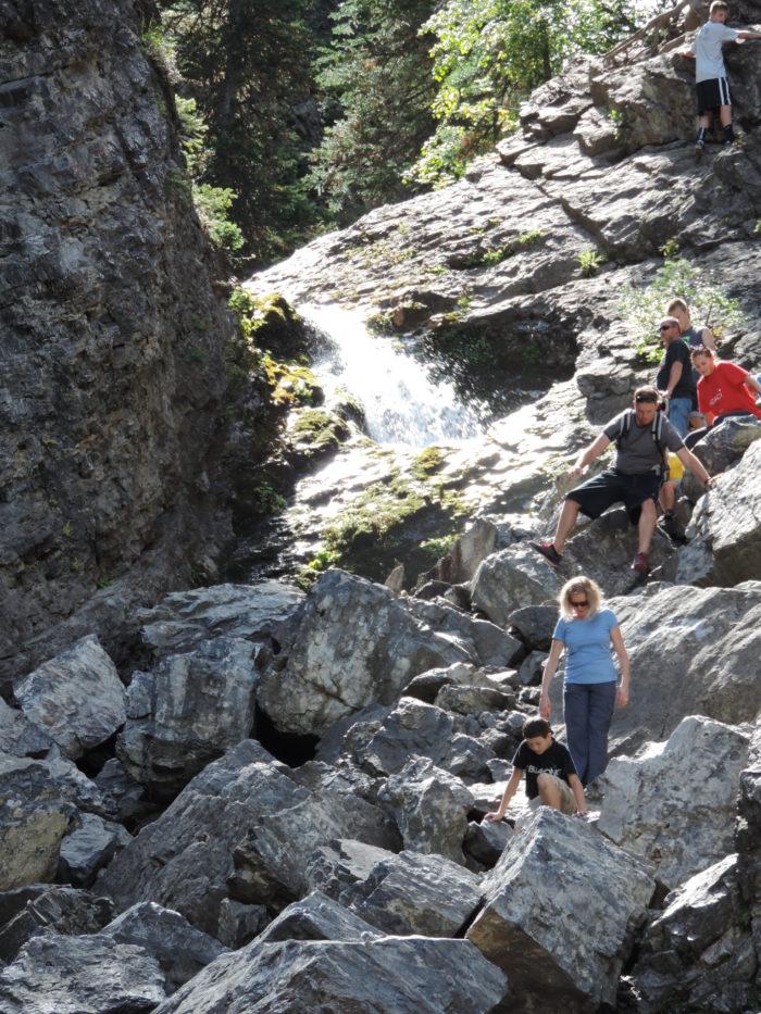 6. Donut Falls, Big Cottonwood Canyon