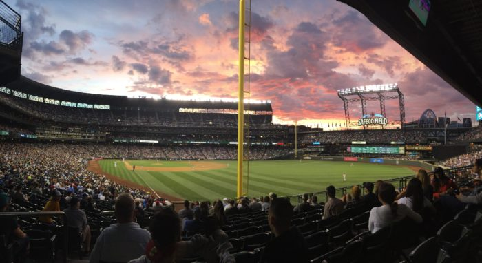5. A Mariners game in the summer is a must.