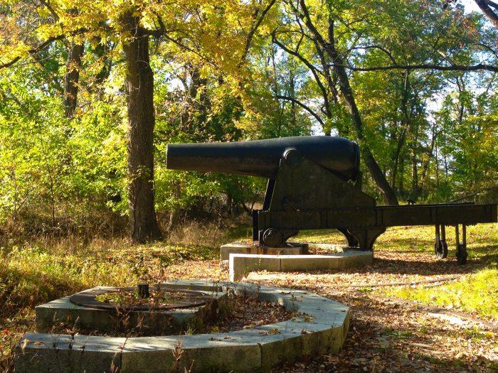9. Fort Foote Civil War Ruins - Fort Washington