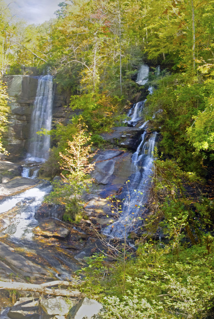 Waterfalls In South Carolina That Are Easy To Get To - Sc waterfalls map