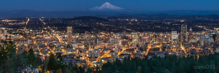 1. Start your trip in the beautiful City of Portland.