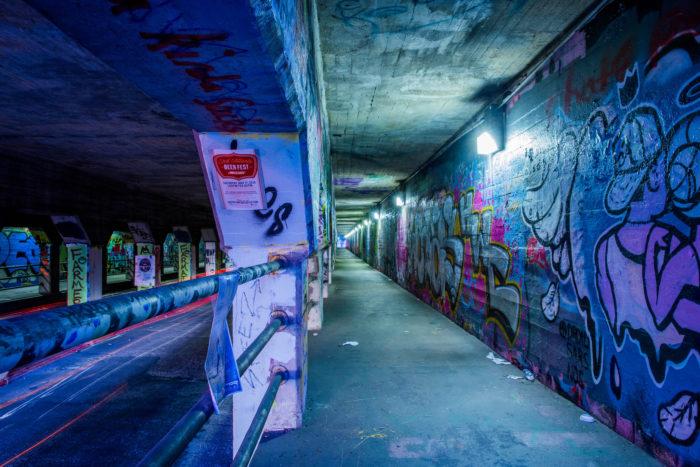 3. Krog Street Tunnel, Atlanta