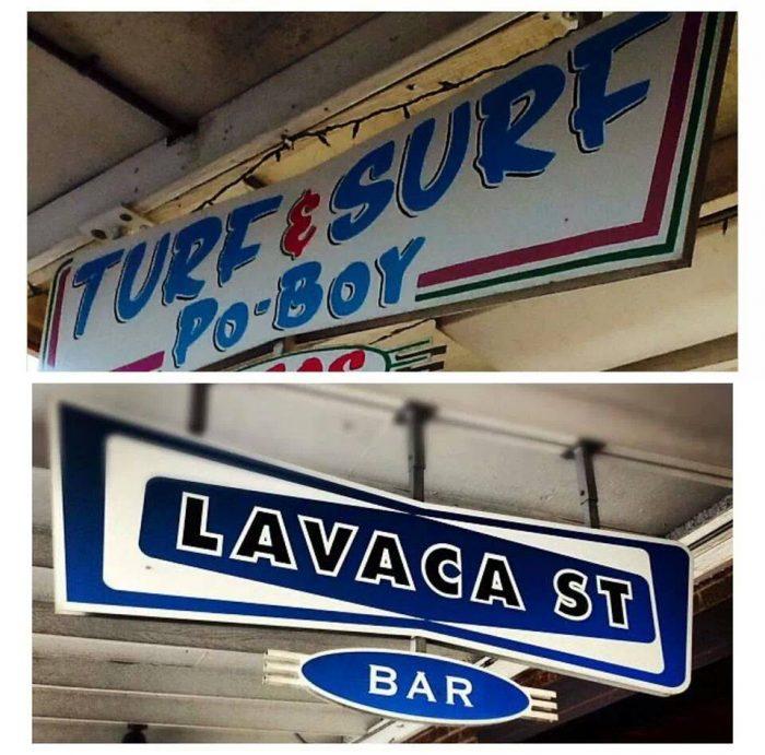 8. Turf & Surf Po-Boy