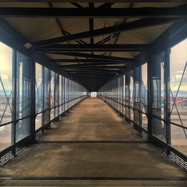 7. Englewood foot bridge