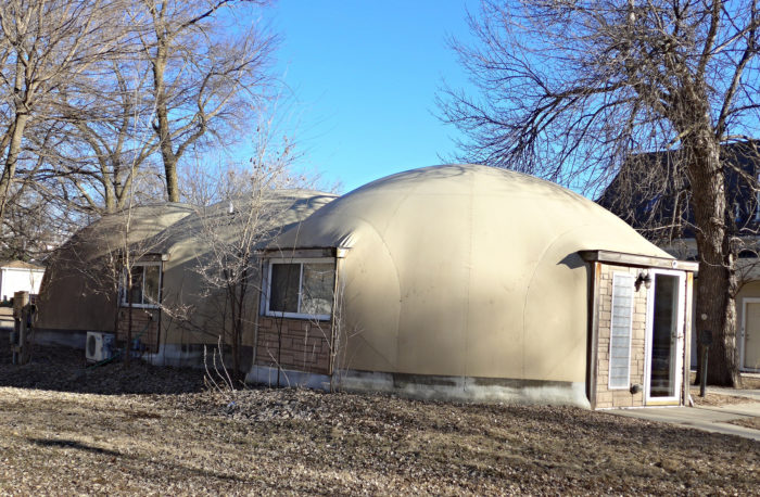 2. A bizarre, inflatable-looking house in Vermillion