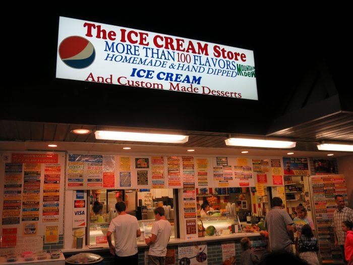 8. They're ice cream snobs.