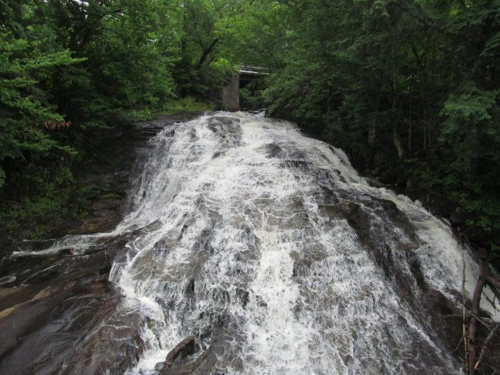 4.  Marshfield Falls, Marshfield