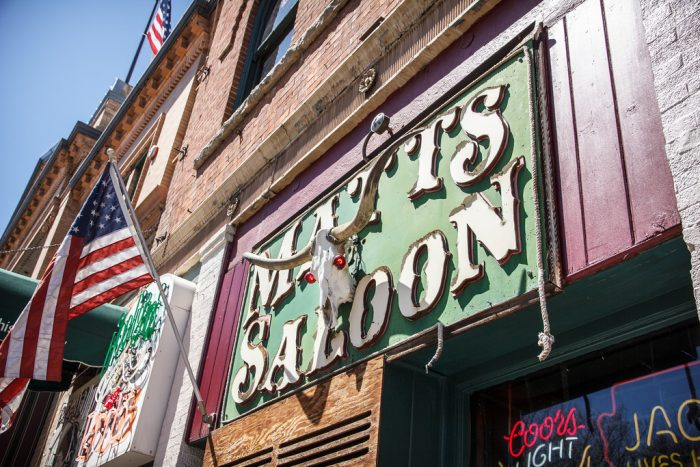 3. Enjoy a drink in the old frontier saloons on Prescott's Whiskey Row.