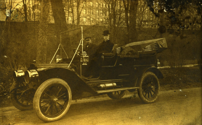 8. You didn't need a license or plates to drive in Massachusetts until 1903.