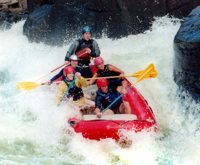 10. Go whitewater rafting.