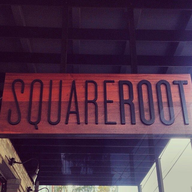 The place is called Square Root, and it can be found at 1800 Magazine St.