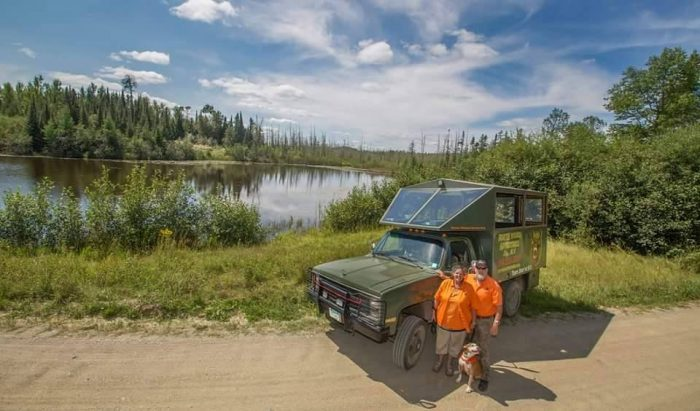 And it's truly a one-of-a-kind experience. This is MN's very first and only off-roading adventure tour company.