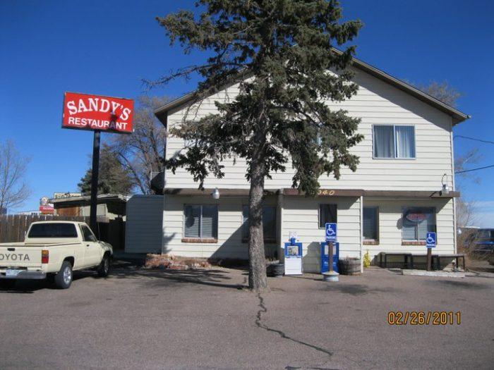 12. Sandy's Restaurant (Colorado Springs)