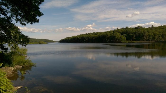 1. Saugatuck Reservoir is the place you go for a creative thinking session.
