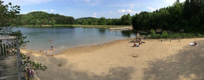 1. Lake Hope State Park (McArthur)