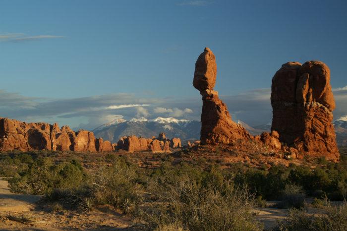 3. Balanced Rock Trail, Arches National Park