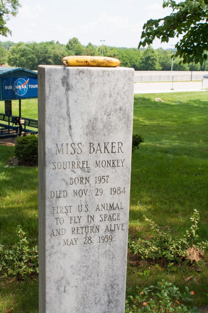 2. Grave of Miss Baker - Huntsville, AL
