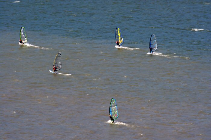 9. Learn to windsurf at Hood River.