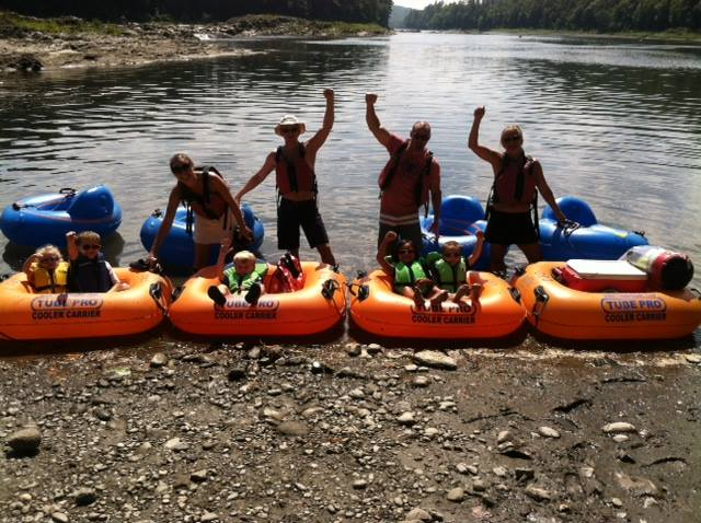 9.Get a rush river tubing.