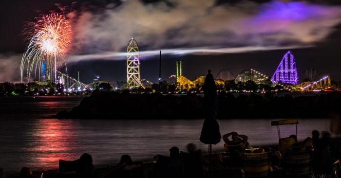 4. Light Up the Point (Cedar Point Amusement Park)