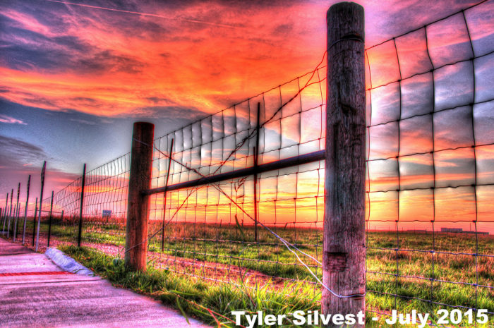 "15. ""Summer Sunset over Olathe"""