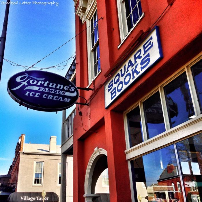 Among the businesses that fill the Square is one of the nation's most renowned independent bookstores, Square Books. Over the years, the bookstore has grown tremendously and has been nationally recognized countless times.