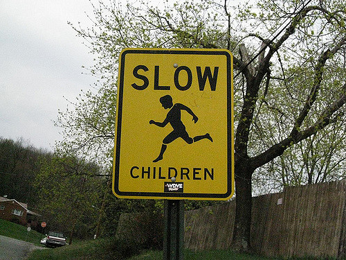 2. What's wrong with this Western Pennsylvania sign?
