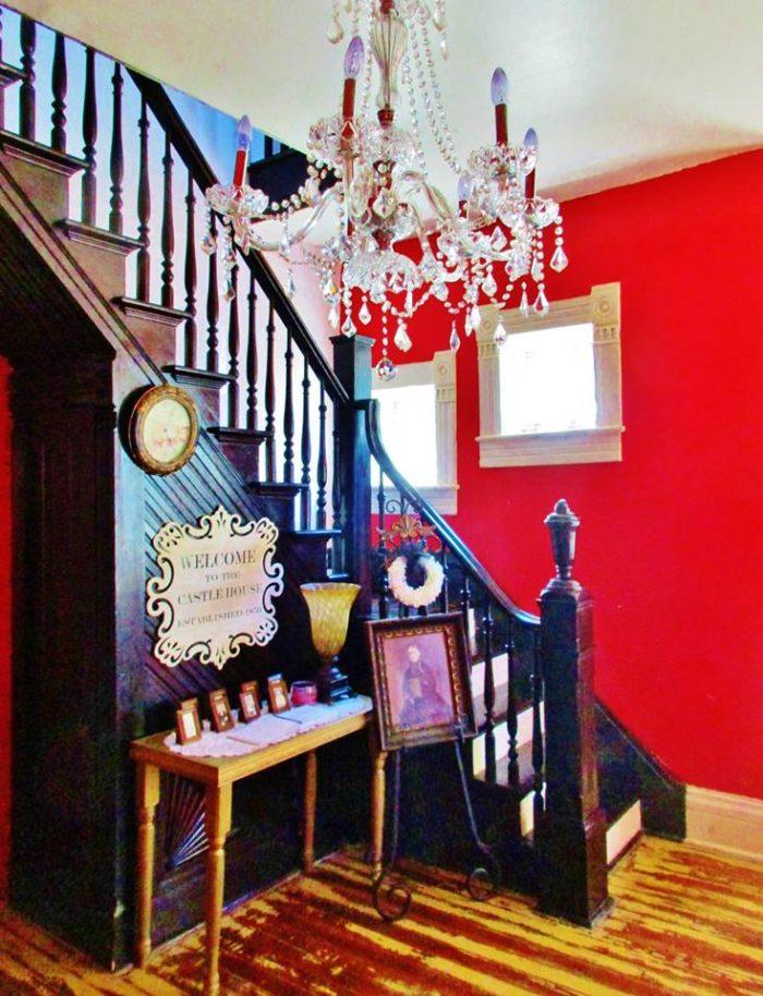 2. Haunted Castle House B&B – Brumley, Mo.