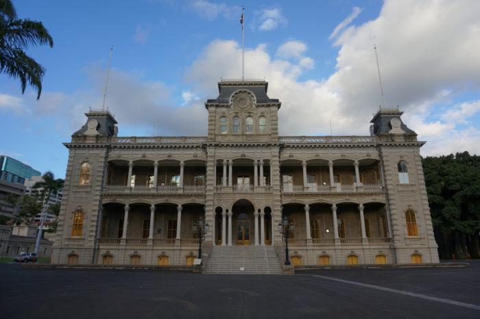 2. Iolani Palace
