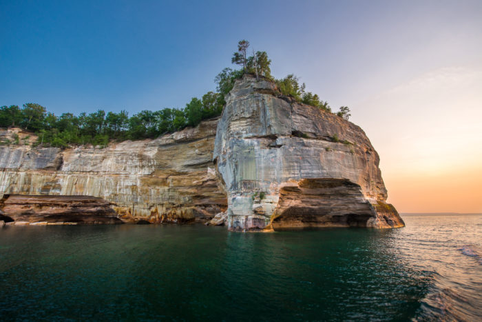6. Pictured Rocks National Lakeshore