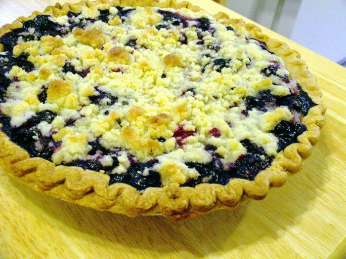 4. Huckleberry pie.